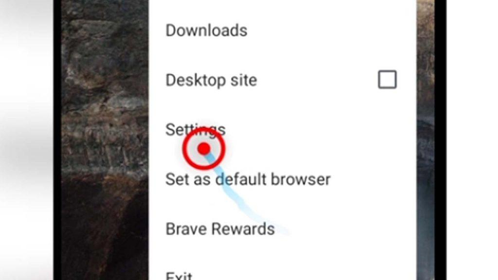 2. brave browser settings