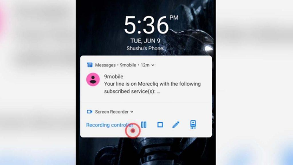 6. show all notifications