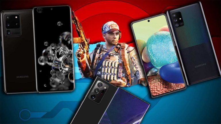 best samsung phones for gaming featured image