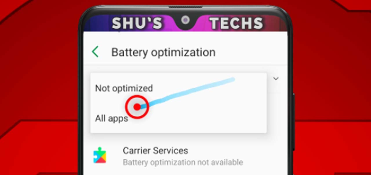 26 battery optimization all apps