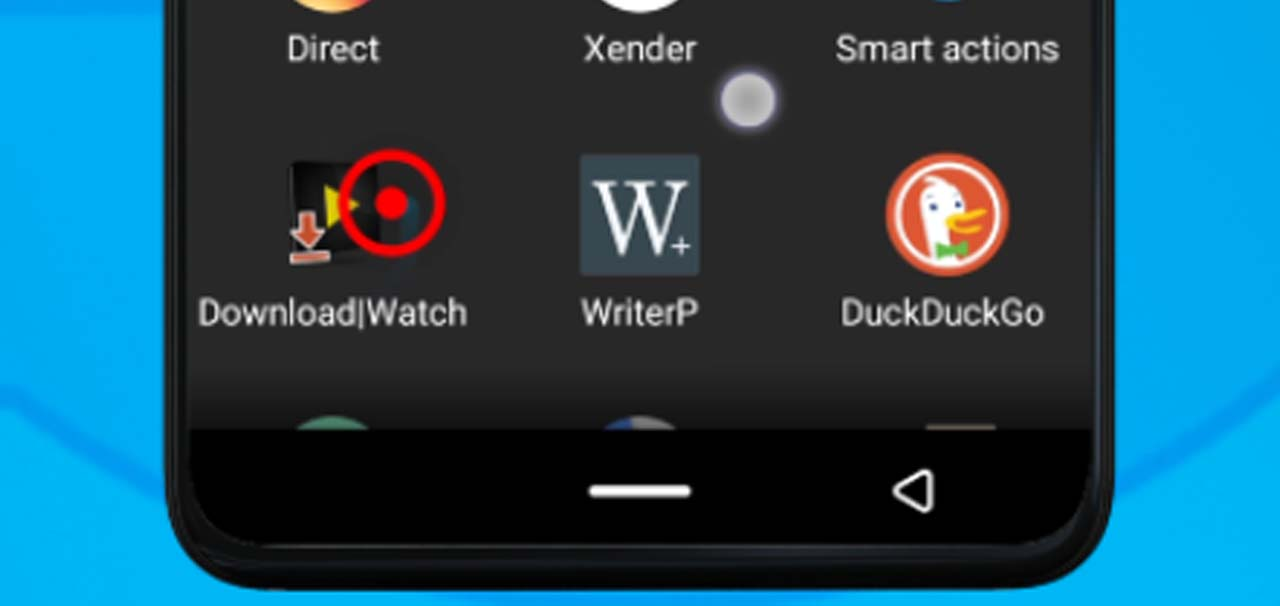 37 videoder icon on share screen