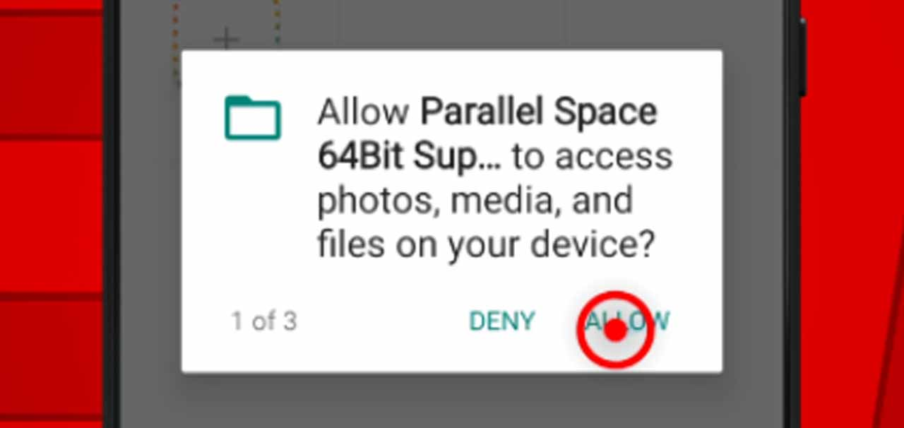 14 parallel space file permission