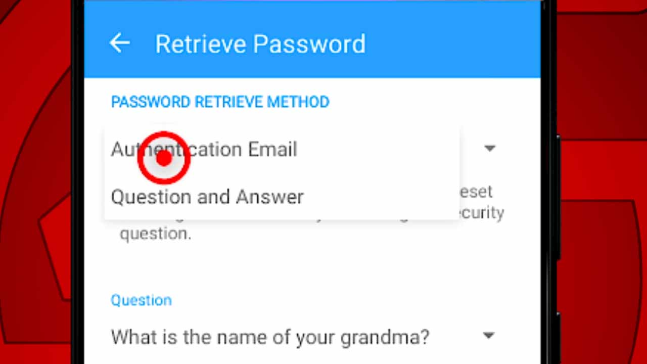 14 retrieve passwords options