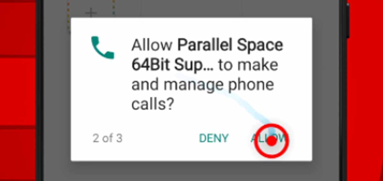 15 parallel space phone permission