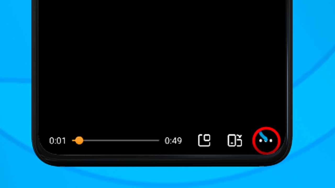 6 uc mini video player options icon