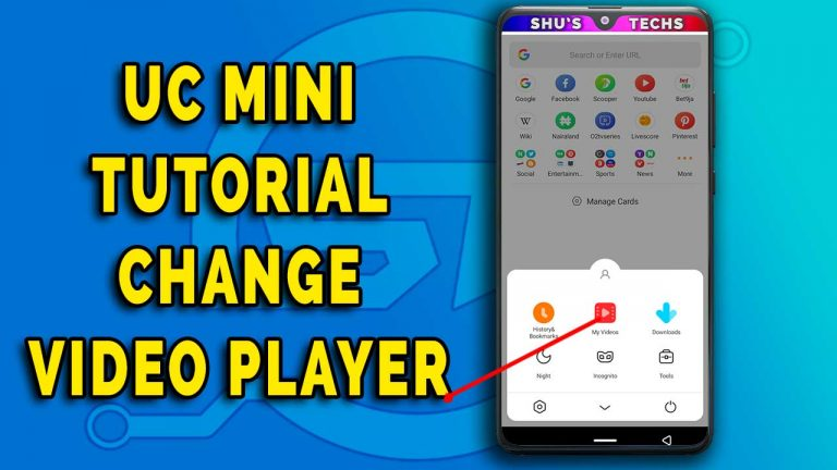 uc mini change video player